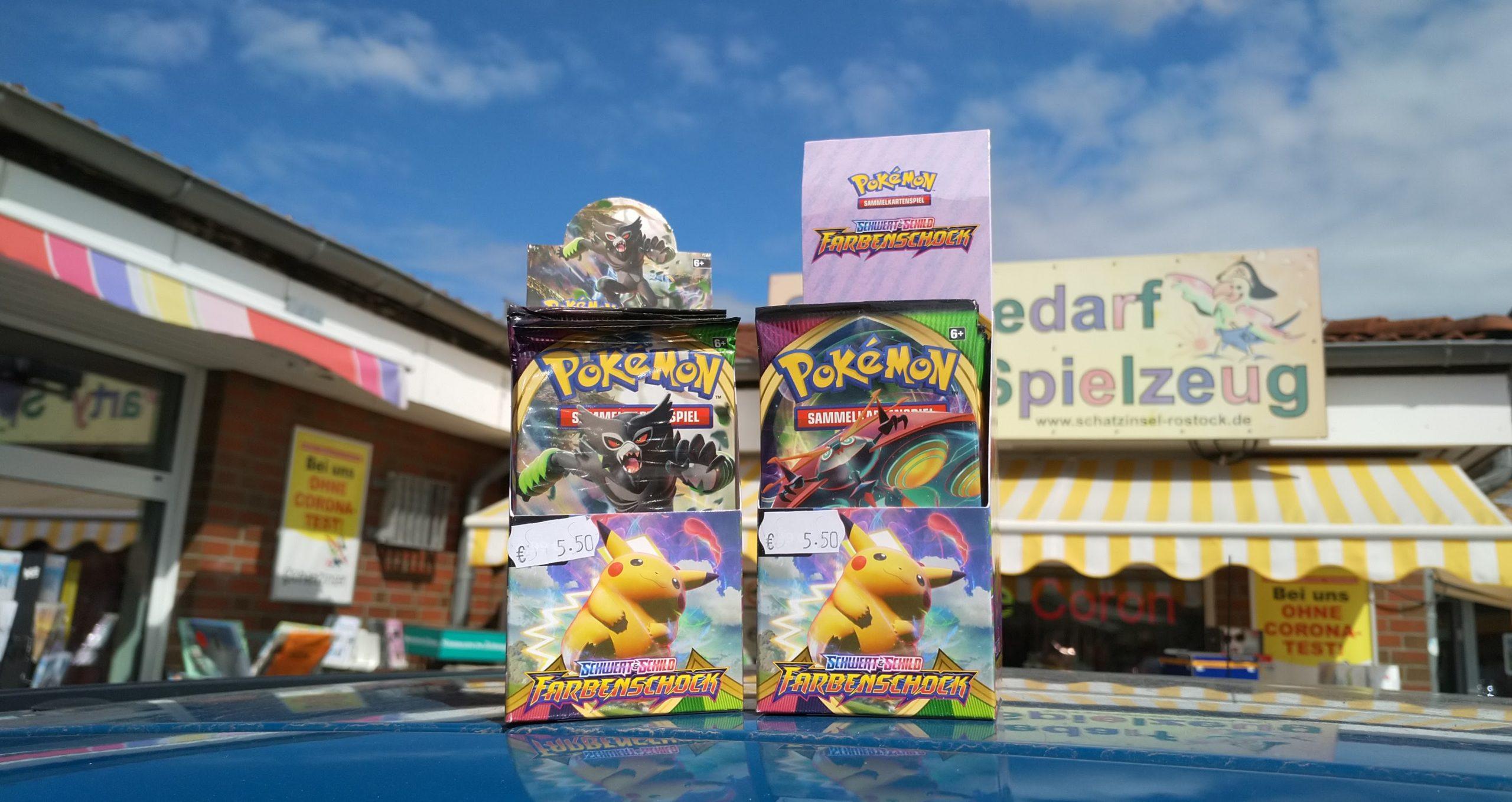Pokemon-Karten in Bad Doberan