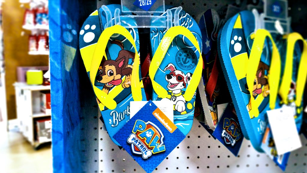 PAW-Patrol Flip-Flops