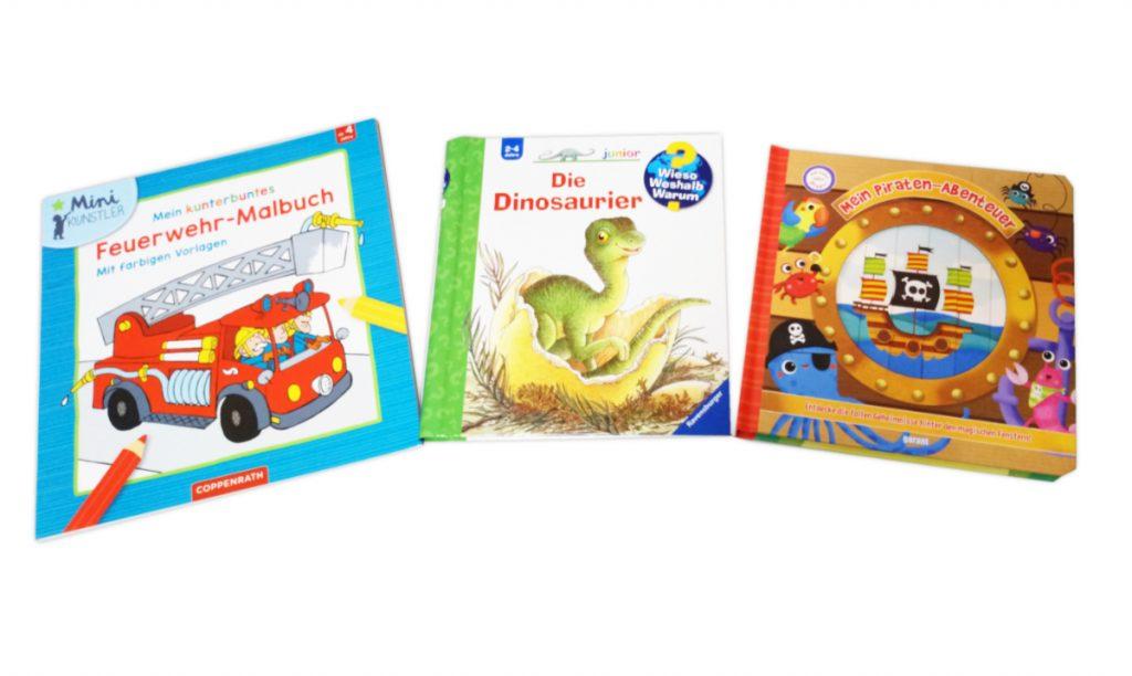 Kinderbücher, Malbücher
