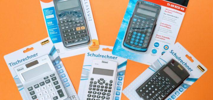 Schulrechner, Taschenrechner, Tischrechner